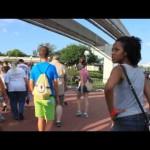 【WDW】モノレール駅からマジックキングダムのエントランス@Walt Disney World(ウォルトディズニーワールド) #ディズニー #followme