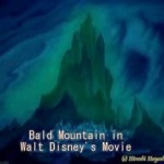 1846 Walt Disney in Mystery謎のウォルト・ディスニー・悪魔の山Bald Mountain in Fantasia by Hiroshi Hayashi, Japan #ディズニー #followme