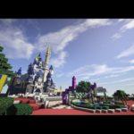 マインクラフトでウォルトディズニーワールド再現プロジェクト エピソード1 -Walt Disney World Reproduction Project Episode1- #ディズニー #Disney #followme