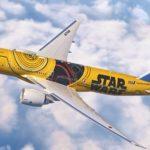 News ANA スターウォーズ C-3PO 特別塗装機 B777国内線 2017年3月就航 ニュース #ディズニー #Disney #followme