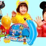 ごっこ ままごと ディズニー ミッキーマウス クラブハウス デラックス プレイ セット おもちゃ日本未発売 海外輸入 玩具   Hane&Mari'sWorld #ディズニー #Disney #followme