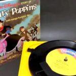 WALT DISNEY BOOK AND RECORD/ウォルトディズニー・ブック(絵本)&レコード・Vintage/ビンテージ 「Mary Poppins/メリーポピンズ」302 #ディズニー #Disney #followme