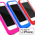 iPhone5 5S バッテリー内蔵ケース Energy Jacket【Apple MFi認証取得】【大容量2000mAh】