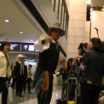 2013.7.16 成田空港 ジョニー・デップ #トレンド #followme