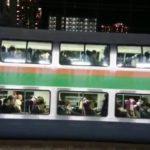 突然の人身事故で東海道線が田町駅前で緊急の駅間停車中 #人気商品 #Trend followme