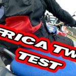 New Honda Africa Twin CRF1000 & Crosstourer Wet track and Mud test #人気商品 #Trend followme